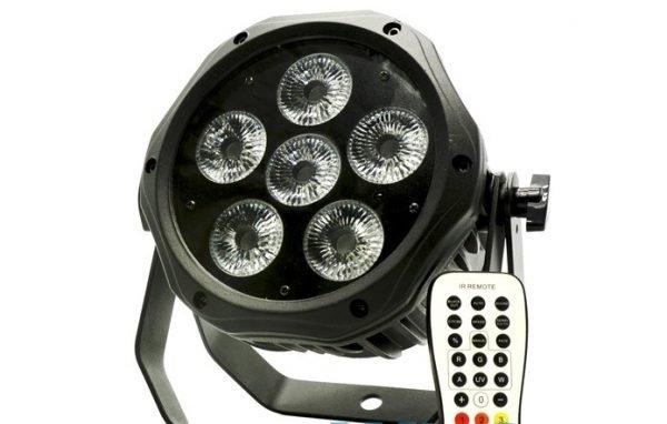 6 x 15 watt Water Proof Wireless Rgbauv Battery Operated Uplight